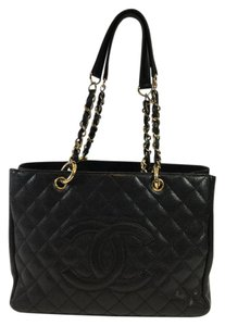 Chanel Grand Shopper Tote in Black
