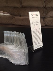 Photo Booth Frames/table Number Stands