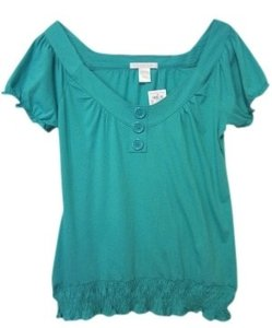 Charlotte Russe T Shirt Turquoise