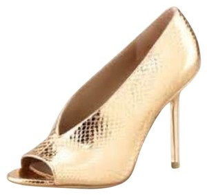 Burberry Metallic Pumps
