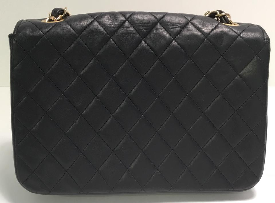 Chanel Classic Flap Matelasse Quilted with Gold Toned Hardware Navy ... fa8e897fe7