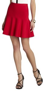 BCBGMAXAZRIA Mini Skirt Red