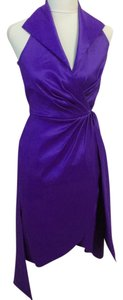 Tadashi Taffeta Evening Shimmer Dress