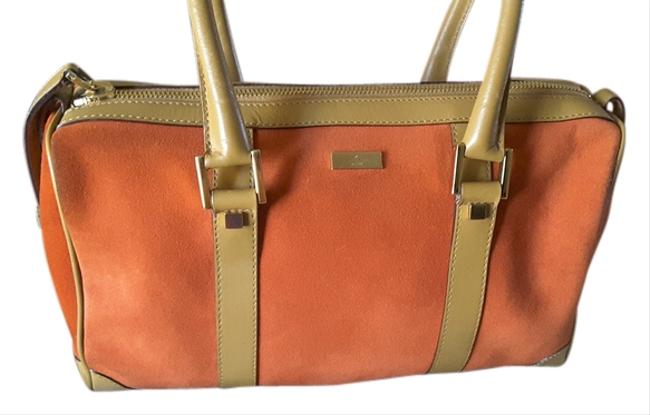 Item - Some Call This Style A Doctors Orange Suede Satchel