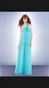 Bill Levkoff Glacier Chiffon 676 Destination Bridesmaid/Mob Dress Size 4 (S)