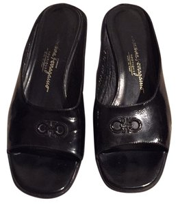 Salvatore Ferragamo Blac Sandals