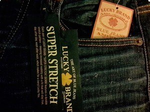 Lucky Brand New Straight Leg Jeans-Light Wash