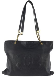 Chanel Weekend Tote in Black