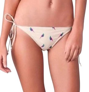 Marc by Marc Jacobs Marc By Marc Jacobs Swimsuit Bikini Bottoms Sz Small Bird Parrot