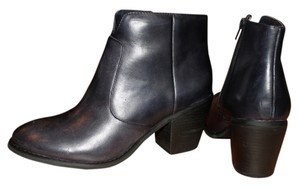 Seychelles Leather Navy Boots