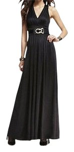 Express Ruched Long Gown Dress
