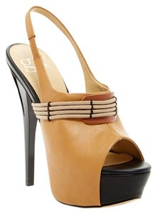 GX by Gwen Stefani Leather Camel- Brown Mules