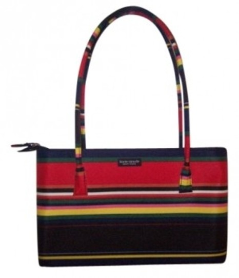 Preload https://img-static.tradesy.com/item/12331/kate-spade-striped-navy-red-green-yellow-and-white-tote-0-0-540-540.jpg