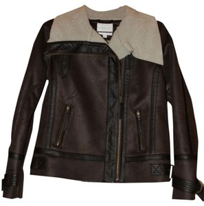 Piperlime Shearling Motorcycle Jacket