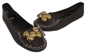 Chloé Studds Loafers Leather Fashion Summer Love Brown Flats