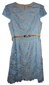 Eliza J Lace Lined Dress