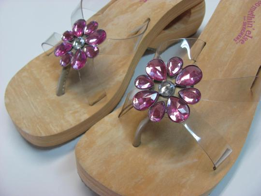 Skechers New Size 7.00 M Usa Excellent Condtion Neutral, Pink Sandals Image 5