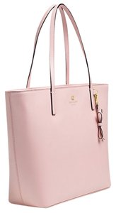 Kate Spade Cute Shopper Leather Smoothleather Pinktote Tote in Pink
