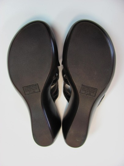 Nickels Size 7.50 M (Usa) Leather Very Good Condition Brown Mules Image 6