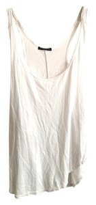 Brandy Melville Layering Cotton Modal Free Shipping Summer Top White