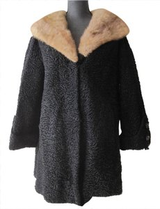 Kaufmanns South-west African Lamb Lamb Fur Karakul Jacqueline Kennedy Fur Coat