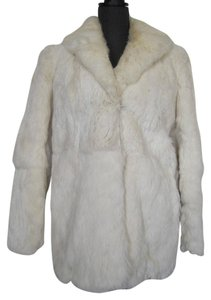 Sergio Valente Rabbit Jacket Vintage Fur Coat