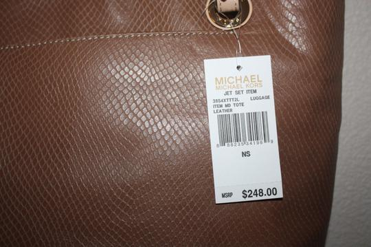 Michael Kors Tote in Luggage Image 3