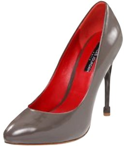 Charles Jourdan Grey Pumps