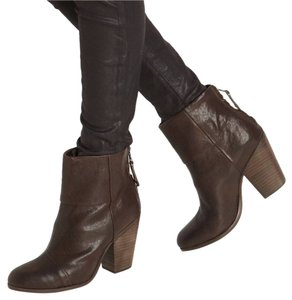 Rag & Bone Newbury Leather New BROWN Boots
