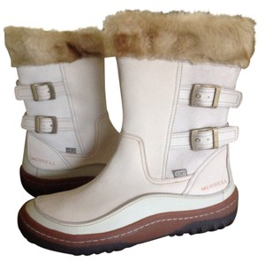 Merrell Snow Leather White Boots