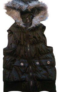 Max Rave Polyester Chic Fall Faux Fur Vest