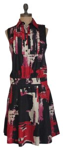 Love Moschino Abstract Drop Waist Dress