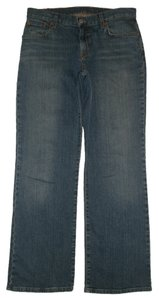 Lucky Brand Classic 5 Pocket Style *zip Fly Leg Opening *mid Rise *whiskering Detail *cotton/Spandex *josie Wash Boot Cut Jeans-Medium Wash