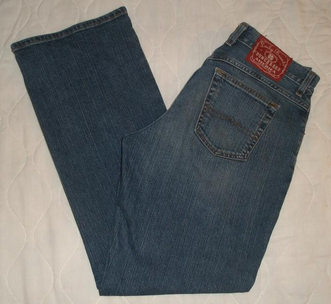 Lucky Brand Classic 5 Pocket Style *zip Fly *boot Leg Opening *mid Rise *whiskering Detail *cotton/spandex *josie Wash Boot Cut Jeans-Medium Wash