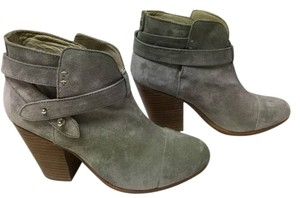 Rag & Bone Harrow Suede New Never Worn Grey Boots