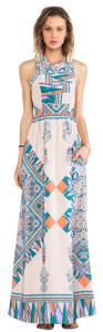 Blush Scarf Maxi Dress by Lovers + Friends