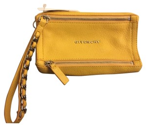 Givenchy Wristlet in Yellow