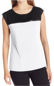 Calvin Klein Top White and black