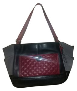Coach Tote in Pink, black, Gray