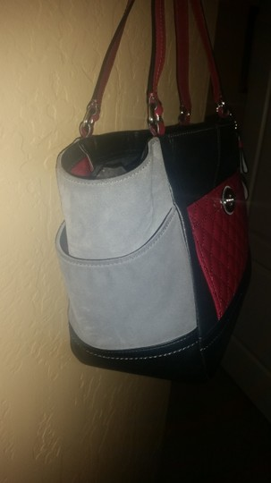 Coach Tote in Pink, black, Gray Image 1