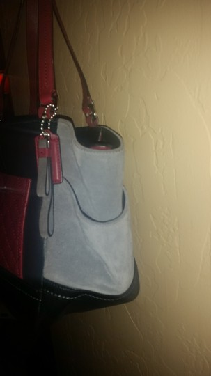 Coach Tote in Pink, black, Gray Image 2
