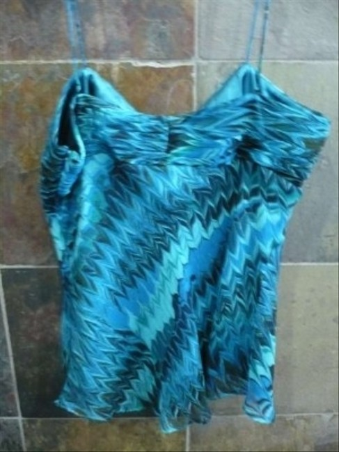 Laundry by Shelli Segal Top Blues