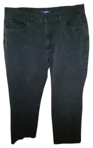 Chaps Capri/Cropped Pants Black