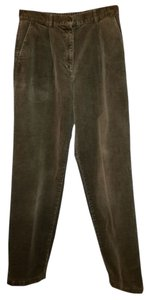 L.L.Bean Straight Pants Olive Green