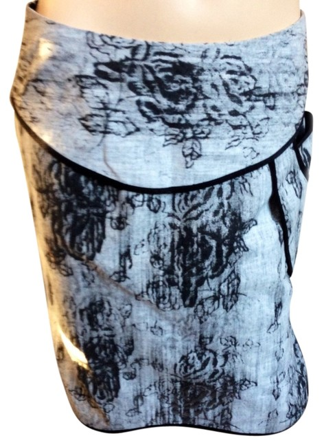 undesigned by Carol Young Skirt Black/white