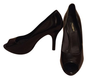 Dolce&Gabbana Leather Patent Leather Black Pumps
