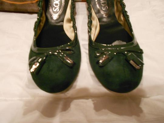 Tod's Color Made In Italy Green Flats Image 1