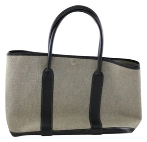 Hermes Garden Party Grey/black Travel Bag