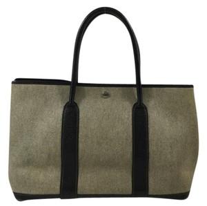 Hermès Garden Party Tote in Tan/Black