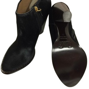 Dolce&Gabbana Suede Suede Dolce Gabbana Dolce Gabbana Pony Hair Black Boots